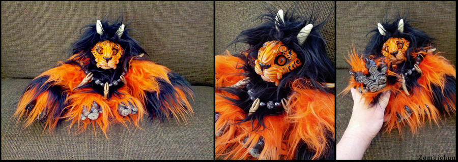Woolly Foo OOAK Halloween by ZombieHun