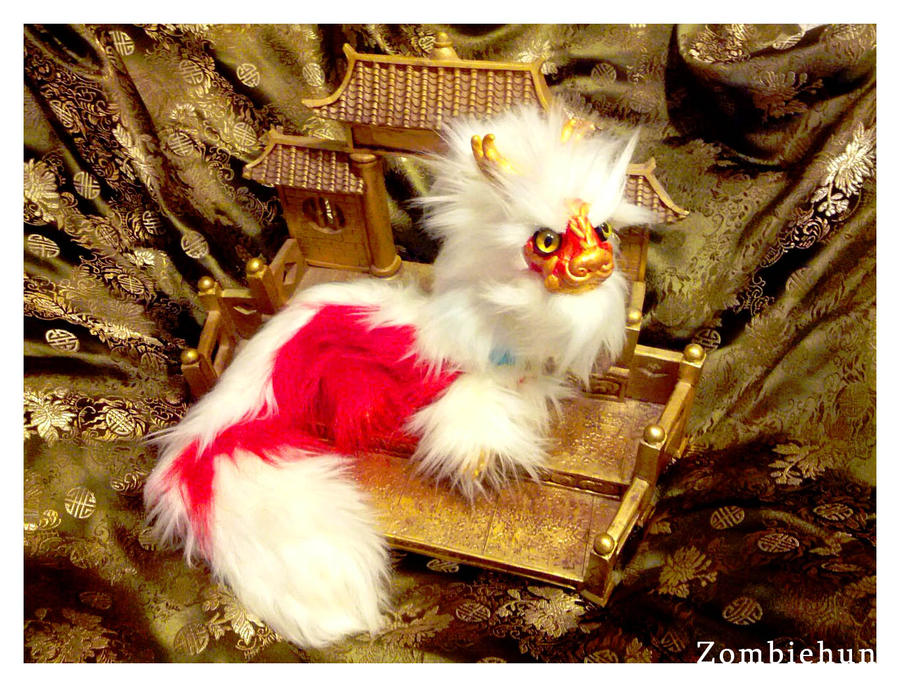 Little Red Dragon OOAK by ZombieHun