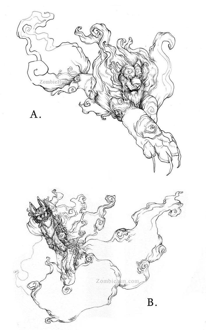 Pen Art by ZombieHun
