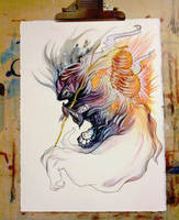 Lantern Fox for auction by ZombieHun