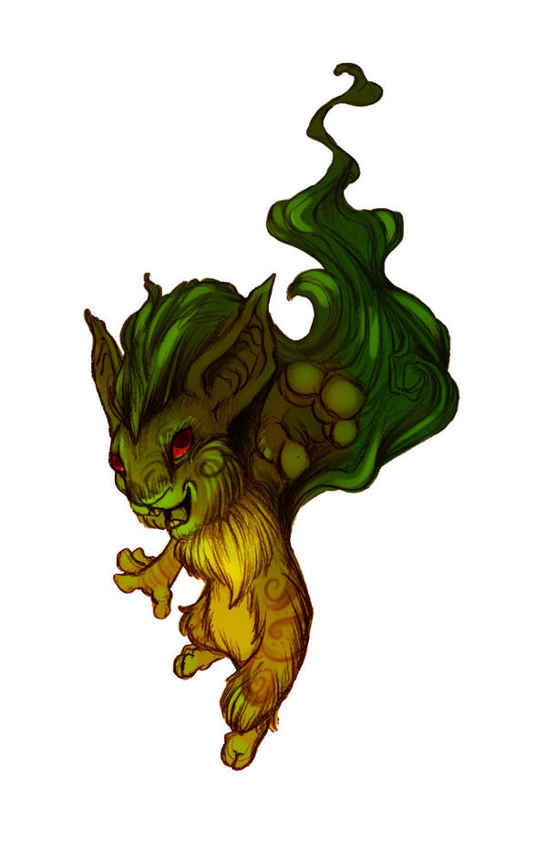 Green Kyrii by ZombieHun