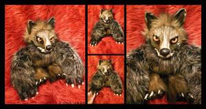 Werewolf 01 OOAK by ZombieHun