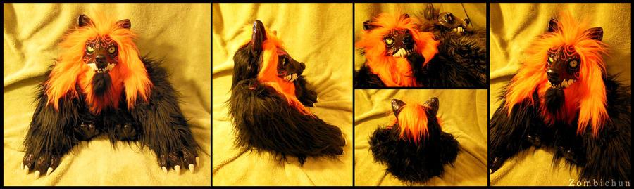 Werewolf 02 OOAK by ZombieHun