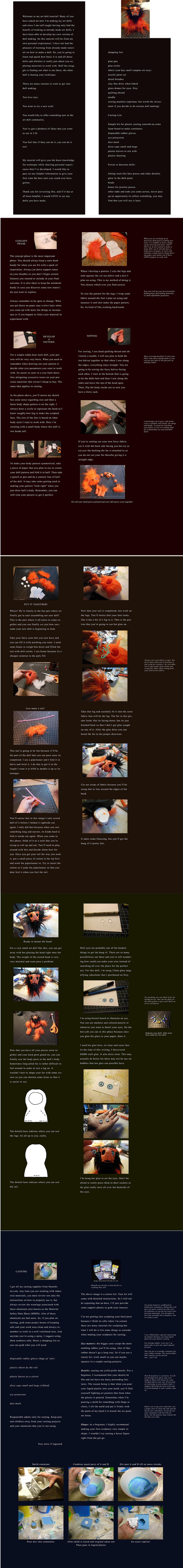 Basic art doll tutorial by ZombieHun