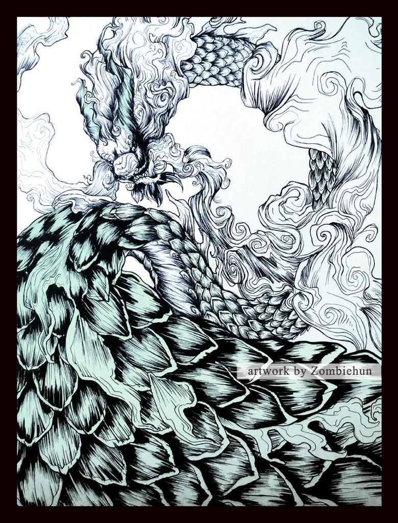 BlueDragon by ZombieHun