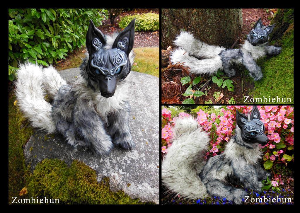 Kitsune 1 by ZombieHun