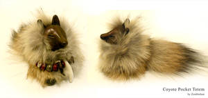 Coyote Pocket Totem by ZombieHun