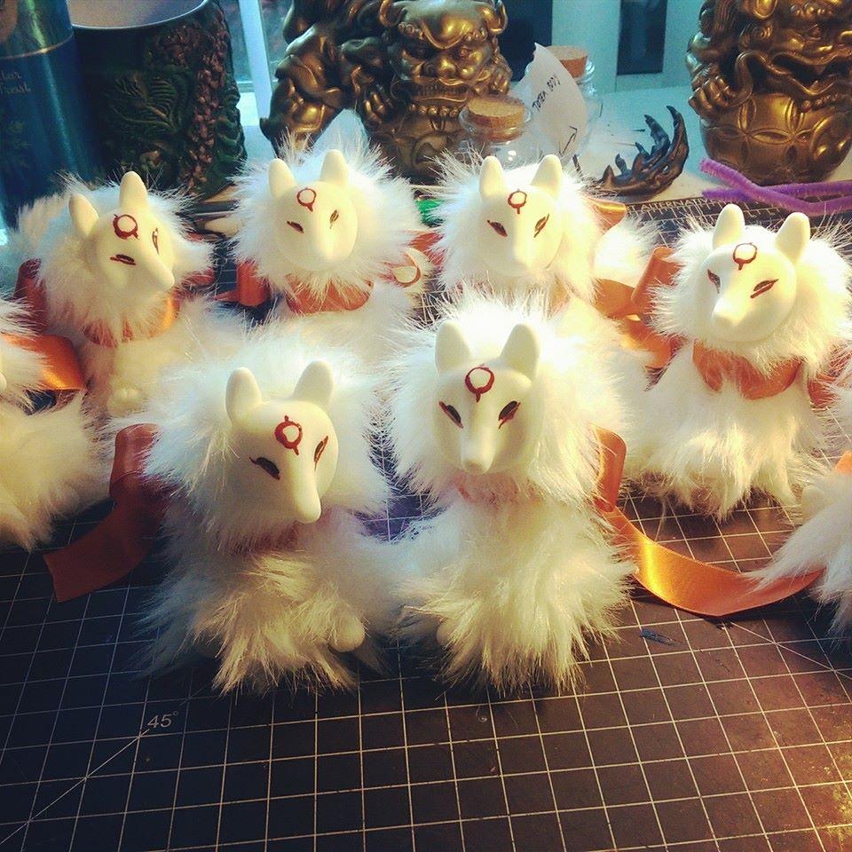 Amateresu mini art dolls by ZombieHun