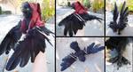 Raven OOAK artdoll