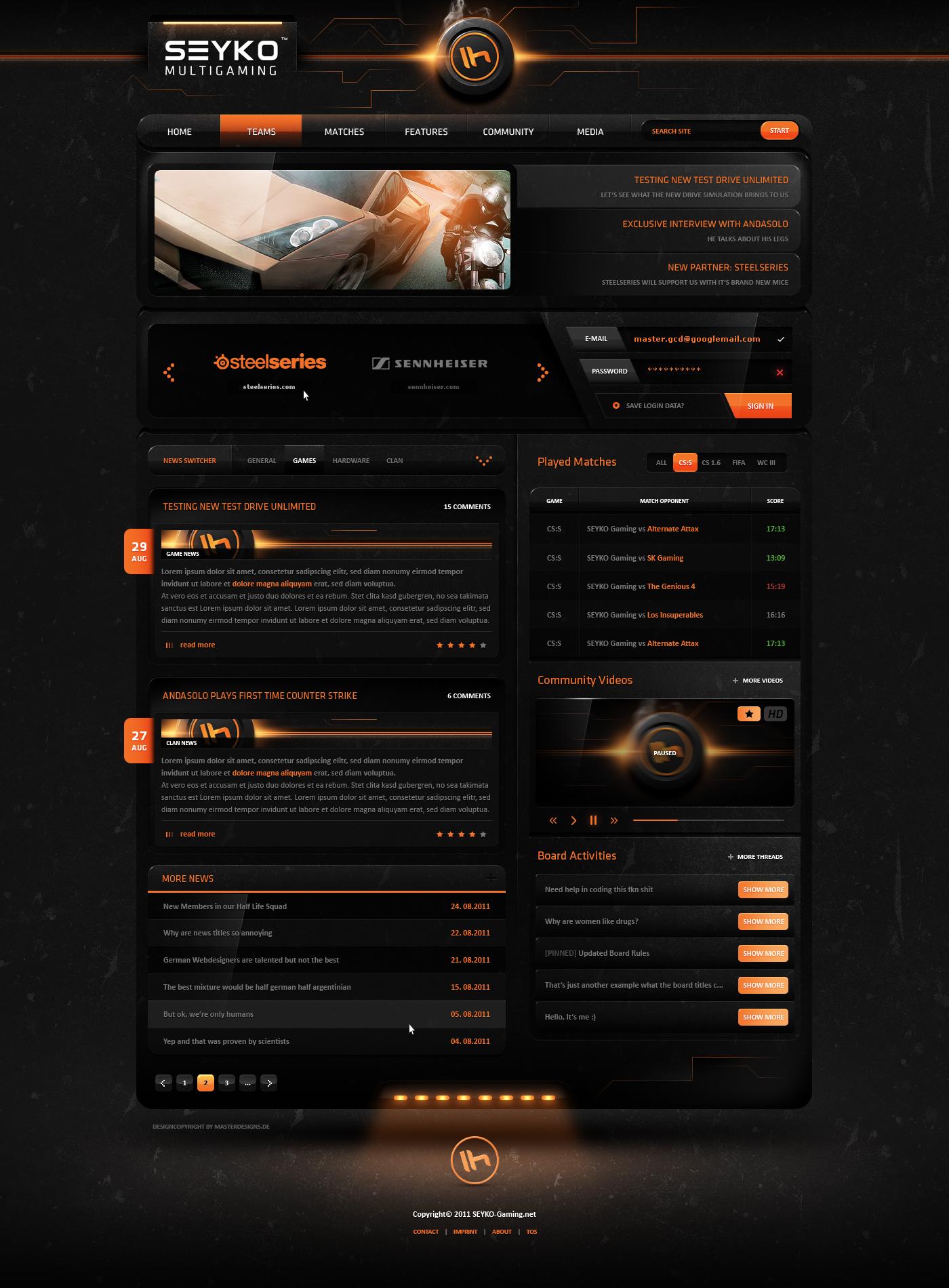 Webspelltemplates. De – webspell templateswebspell clan templates.