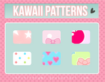 Kawaii Patterns for Photoshop