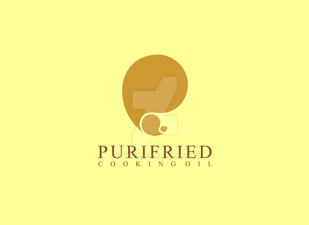 purifried cooking oil logo by exp121 on deviantart