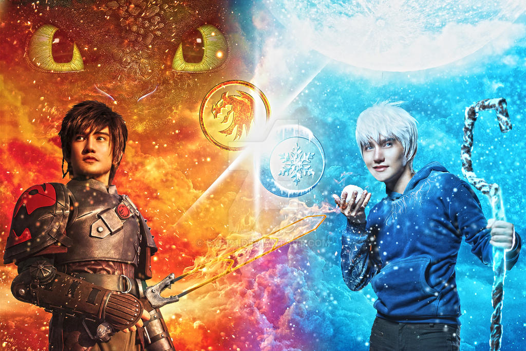 Hiccup Vs. Jack Frost By Exp121 On DeviantArt