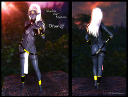 Dungeons and Dragons: Shadow over Mystara Drow Elf
