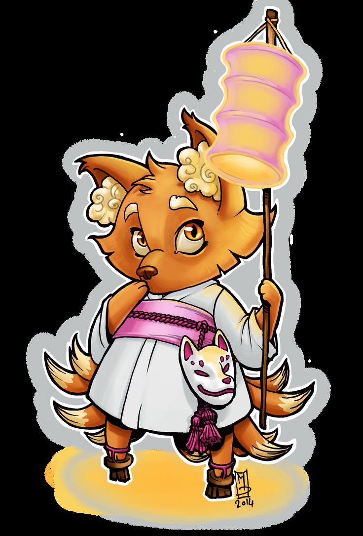 Kitsune by Mydriad