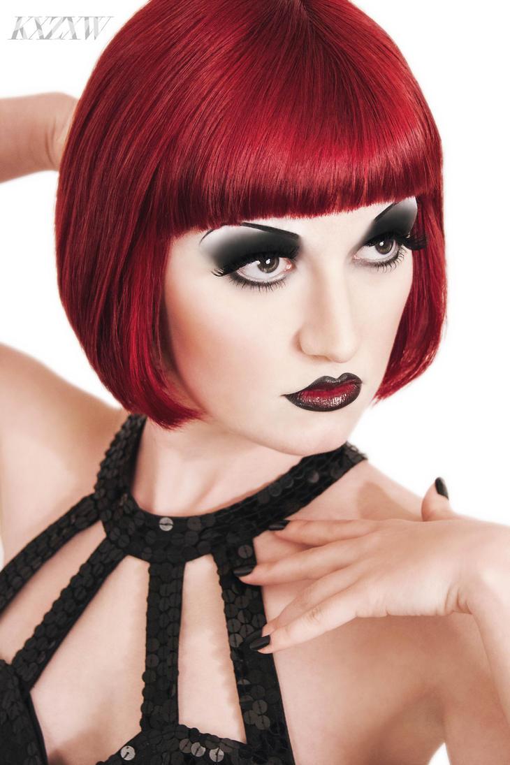 Red Noir II by KXZXW