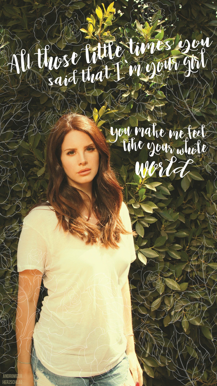 Pretty When You Cry Lana Del Rey Wallpaper By Kittygermanotta