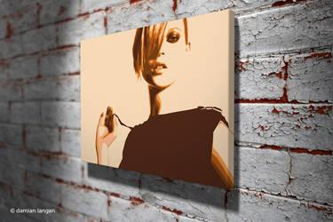 Kate Pop Art by iamDamianUK