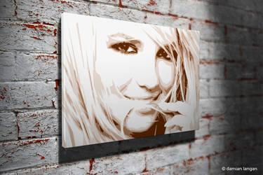 Britney Pop Art by iamDamianUK