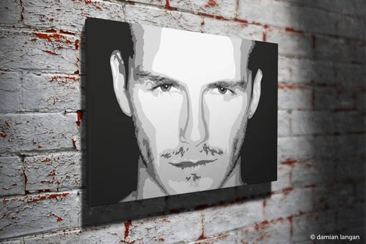 David Beckham Pop Art
