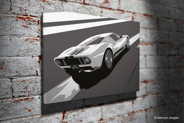 Ford GT40 Pop Art by iamDamianUK