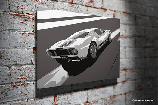 Ford GT40 Pop Art