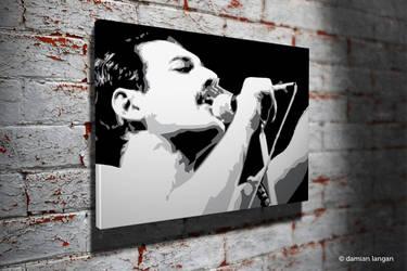 Freddie Pop Art by iamDamianUK