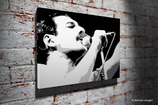 Freddie Pop Art