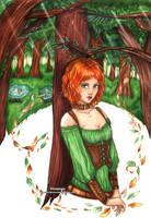 :COM: Raphaelle by Linelana