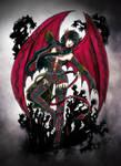 .Oc.Nastasya-Red Wings. by Linelana
