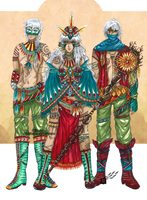 .OC. The Shamans by Linelana