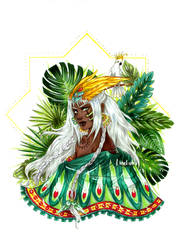 .OC. Calypso - White Parrot