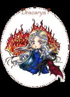 :Com: Chibi Daenerys Targaryen by Linelana