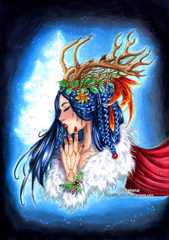 Winter : Deer Girl