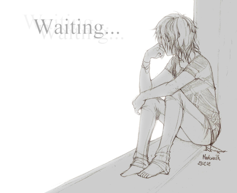231212 Waiting... by NineThousandOnes