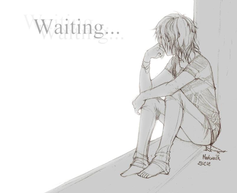 231212 Waiting... by NineThousandOnes