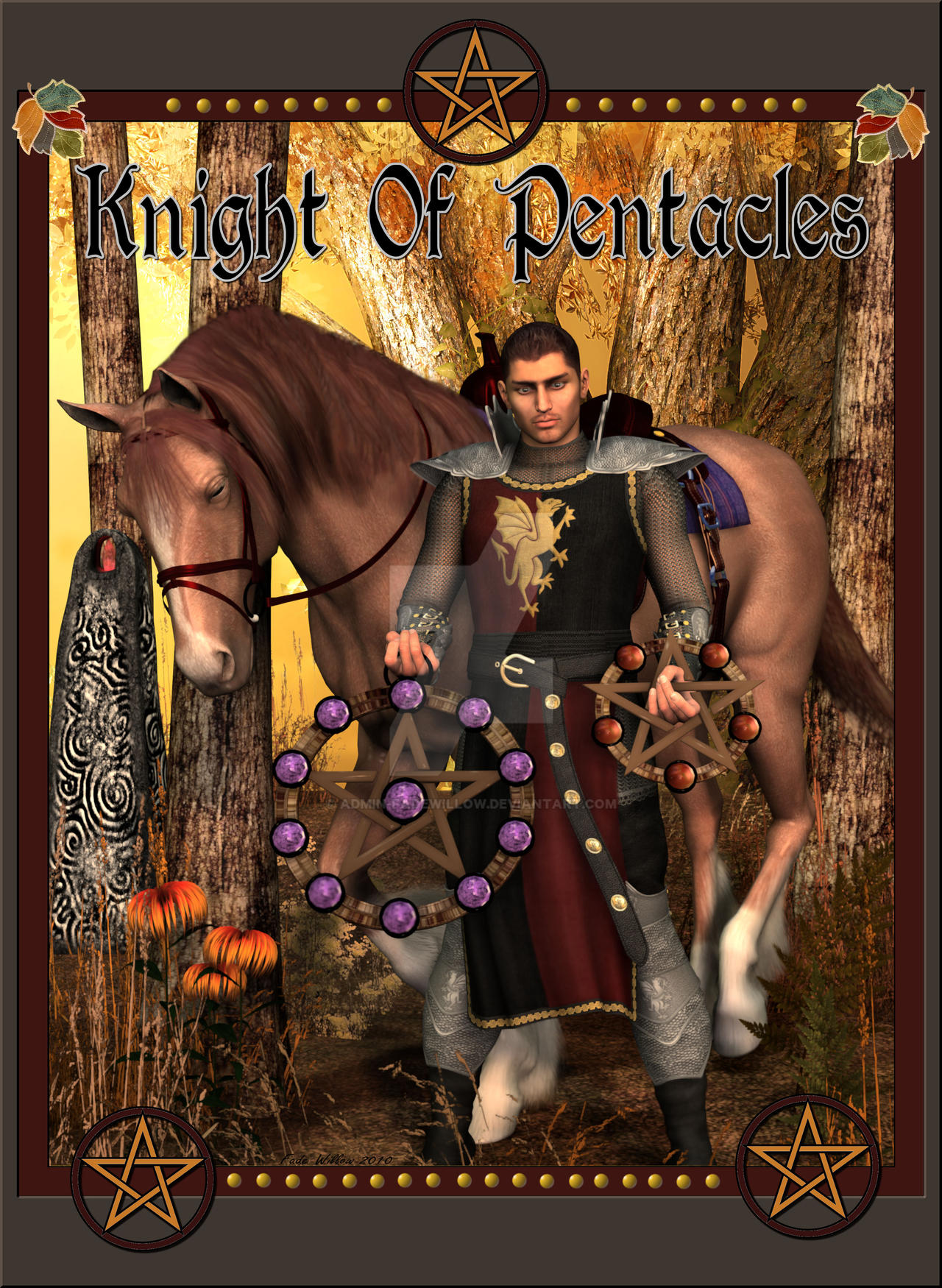 Knight Of Pentacles by admin-fadewillow on DeviantArt