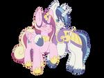Princess Mi Amore Cadenza and Shining Armor by SAM2UP