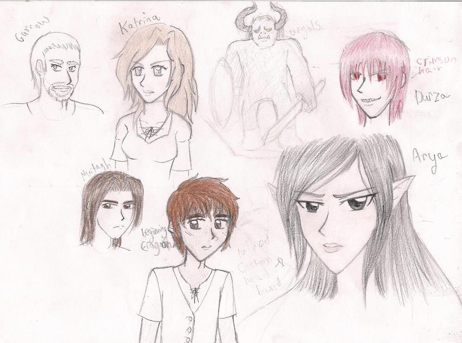 Eragon Book Characters Eragon Character Sketc...