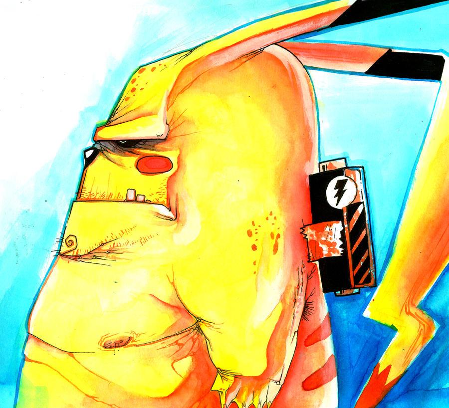 pikachu by Goretoon
