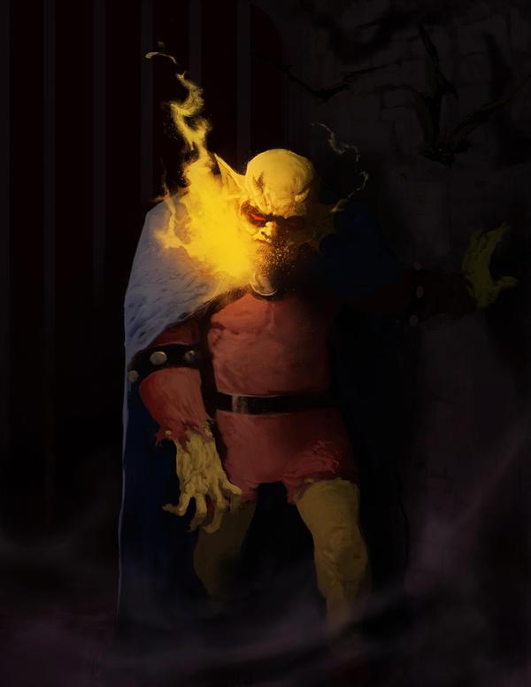 The Demon by Goretoon
