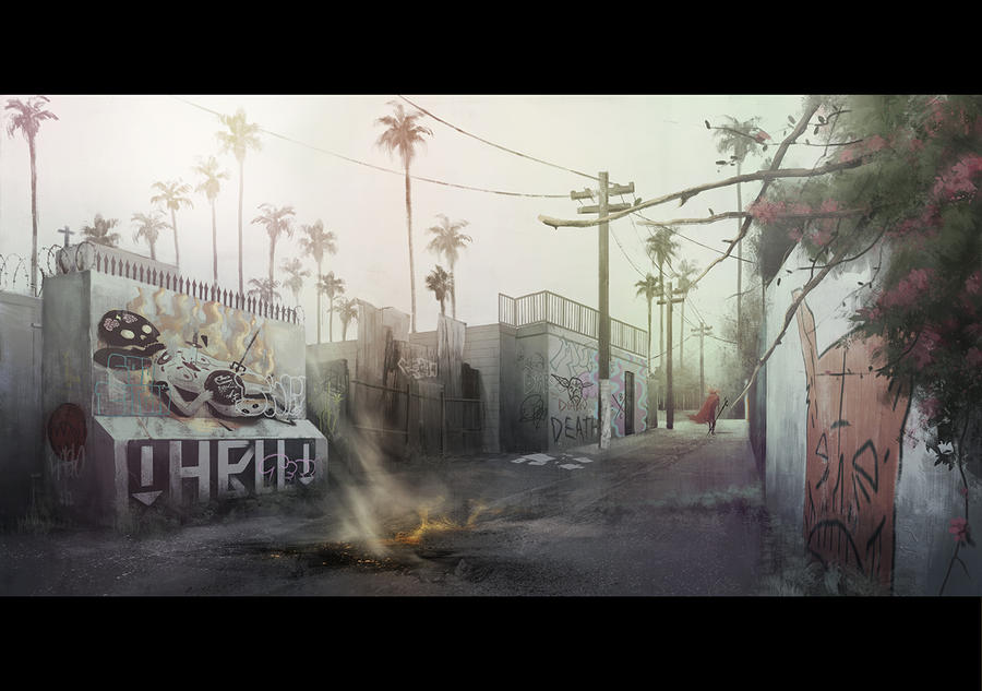 El Diablo, Alley by Goretoon