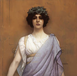 John william godward by Goretoon