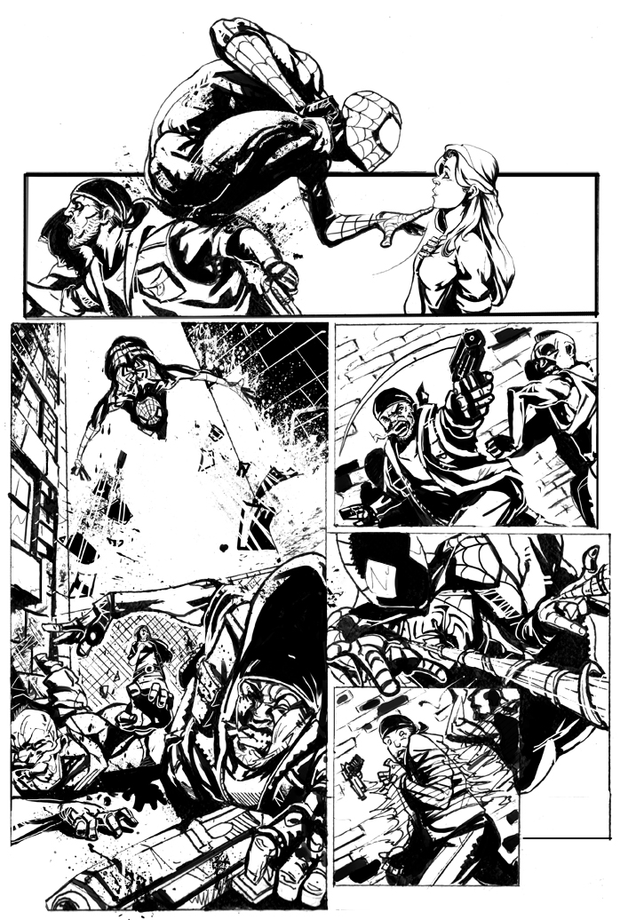 Spiderman pag. 3/4 by jackegiacomo