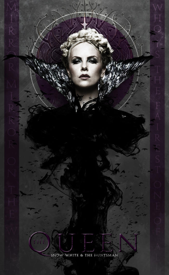 The Queen of Snow White and The Huntsman by GUNS7ING3R on ...