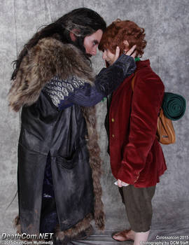 The hobbit and The king under the lonely Mountain
