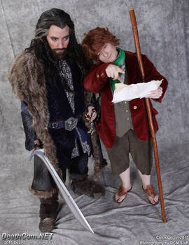 Look Thorin! we're nearly there!