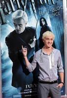 Draco Malfoy--Tom Felton-- by Snowfox1234