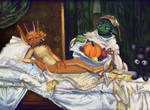 one olympia, hold the manet by bimshwel