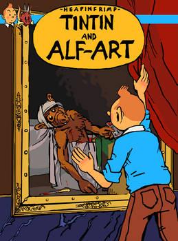 Tintin and Alf-Art